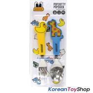 Pancoat spoon fork pop dotty pop duck