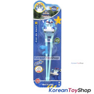 Robocar Poli Training Chopsticks Right Handed Poli Model Blue