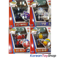 Super Wings Ace Saetbyeol Pigu Doodoo 4 pcs Transformer Robot Set Toy Season 2