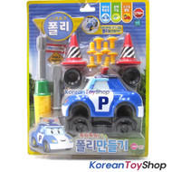 Robocar Poli Tools Play Set Toy Making Poli Develop Brain & Hands w Screw Driver