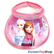 Disney Frozen Visor Hat Sun Cap Kids Girl Pink Elsa Anna Designed by Korea N.35