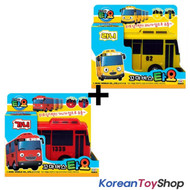 The Little Bus TAYO Diecast Plastic Toy Car - Gani & Rani Buses Set (2 pcs)