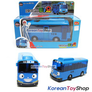 The Little Bus TAYO Diecast Metal Toy Car / Tayo Model / Blue Bus Full Back Gear