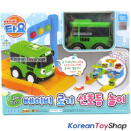 The Little Bus Tayo Mini Baby ROGI Toy w/ Traffic Lights & Classic Melody