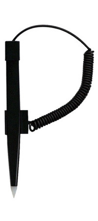 Economical Coiled Tether Stylus for Resistive Touch Screens
