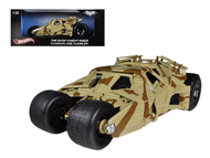 Batman The Dark Knight Rises Batmobile Tumbler Camouflage 1/18 Scale Diecast Car Model By Hot Wheels BCJ76
