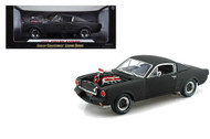 1965 Shelby GT350R Racing Matte Black 1/18 Scale Diecast Car Model By Shelby Collectibles SC 178