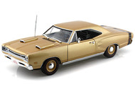 1969 Dodge Coronet R/T 50 Years HEMI 1/18 Scale Diecast Car Model By Auto World AMM1024