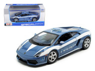 Lamborghini Gallardo LP560-4 Polizia Police 1/24 Scale Diecast Car Model By Maisto 31299