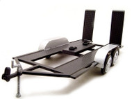 Trailer For 1/18 Scale Diecast Car Model By Motor Max 76009