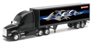 Kenworth T700 Dry Van Container Semi Truck & Trailer 1/32 Scale By Newray 10273