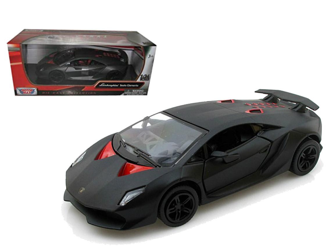 Lamborghini Sesto Elemento Grey 1 24 Scale Diecast Car Model By