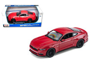 2015 Ford Mustang Red 1/18 Scale Diecast Car Model By Maisto 31197