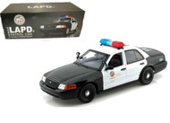 Ford Crown Victoria Los Angeles Police Department LAPD 1/18 Scale Diecast Car Model By Daron Motor Max 60326