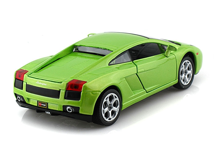 Lamborghini Gallardo Green 1 24 Scale Diecast Car Model By
