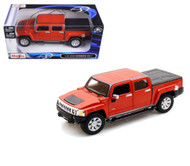 2009 Hummer H3T SUV Truck Orange 1/26 Scale Diecast  Model By Maisto 31286