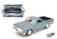 1965 Chevrolet El Camino Blue 1/25 Scale Diecast Car Model By Maisto 31977