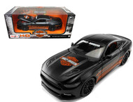2015 Ford Mustang GT Black Harley Davidson 1/24 Scale Diecast Car Model By Maisto 32188