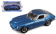 1971 Datsun 240Z 240 Z Nissan Fairlady Z Blue 1/18 Scale Diecast Car Model By Maisto 31170