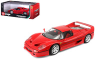 Ferrari F50 Red 1/18 Scale Diecast Car Model By Bburago 16004