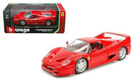 Ferrari F50 Red 1/24 Scale Diecast Car Model By bburago 26010