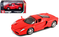 Ferrari Enzo Red 1/24 Scale Diecast Car Model By Bburago 26006