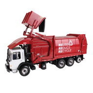 Mack TerraPro Front End Loader Garbage Trash Truck With Bin 1/34 Scale Diecast Model By First Gear 10-4017