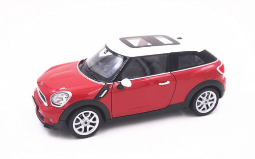 Mini Cooper S Paceman Red 1/24 Scale Diecast Car Model By Welly 24050