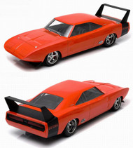 Greenlight 1/18 Scale 1969 Dodge Charger Daytona Orange Diecast Car Model 19004
