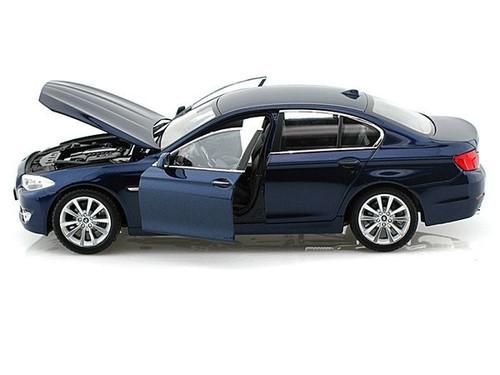BMW 535i Blue 1/24 Scale Diecast Car Model By Welly 24026 NO RETAIL BOX