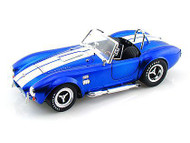 1965 Shelby Cobra 427 S/C Blue 1/18 Scale Diecast Car Model By Shelby Collectibles SC 139