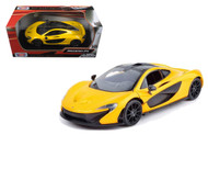McLaren P1 Yellow 1/24 Scale Diecast Car Model By Motor Max 79325