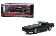 Greenlight 1/18 Scale 1978 Chevy Camaro Z28 Black With Orange Stripes Diecast Car Model 12902