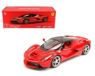 Ferrari LaFerrari F70 Red 1/18 Scale Diecast Car Model Signature Series By Bburago 16901