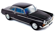 Norev 1/18 Scale 1967 Peugeot 404 Coupe Black Diecast Car Model 184778