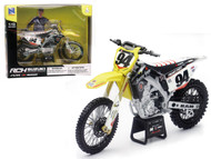 2015 Suzuki RM-Z 450 #94 Ken Roczen Supercross Motorcycle Dirt Bike 1/12 Scale By Newray 57747