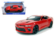 2016 Chevrolet Camaro SS Red 1/18 Scale Diecast Car Model By Maisto 31689