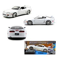 Toyota Supra Brians White Fast & Furious 1/24 Scale Diecast Model By Jada 97375