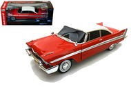 1958 Plymouth Fury CHRISTINE Night Time Version 1/18 Scale Diecast Car Model By Auto World AWSS102