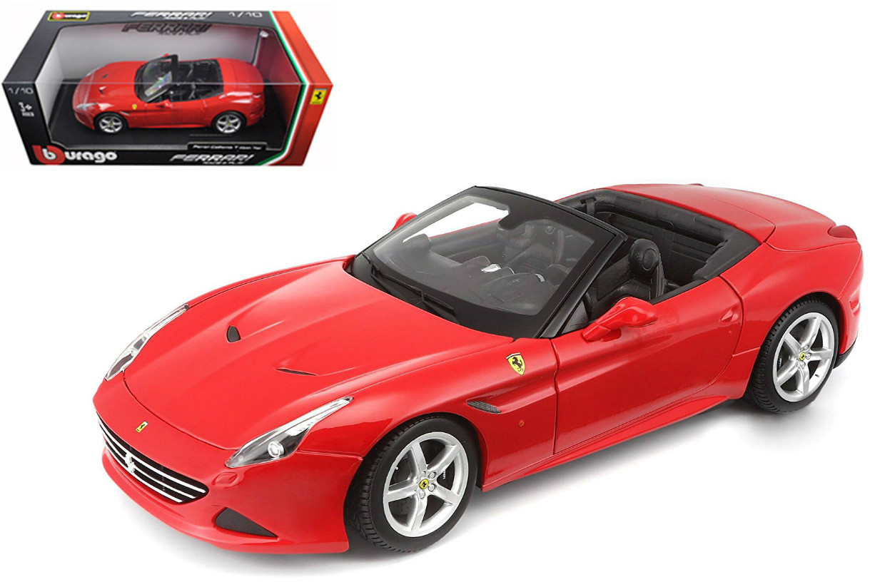 Ferrari California T Open Top Red 1/18 Scale Diecast Car ...