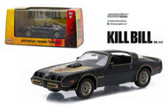 1979 Pontiac Firebird Trans AM Kill Bill 1/43 Scale Diecast Car Model By Greenlight 86452
