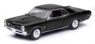 1966 Pontiac GTO Black 1/24 Scale Diecast Car Model By Newray 71853