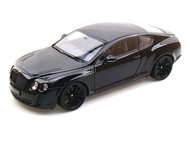 Bentley Continental SuperSports Coupe Black 1/18 Scale Diecast Car Model By Welly 18038