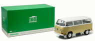 1971 Volkswagen Type 2 Bus T2B Yellow 1/18 Scale Diecast Model By Greenlight 19012