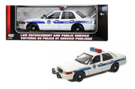 2001 Ford Crown Victoria Arizona Highway Patrol Police 1/18 Scale Diecast Car Model By Motor Max 73529