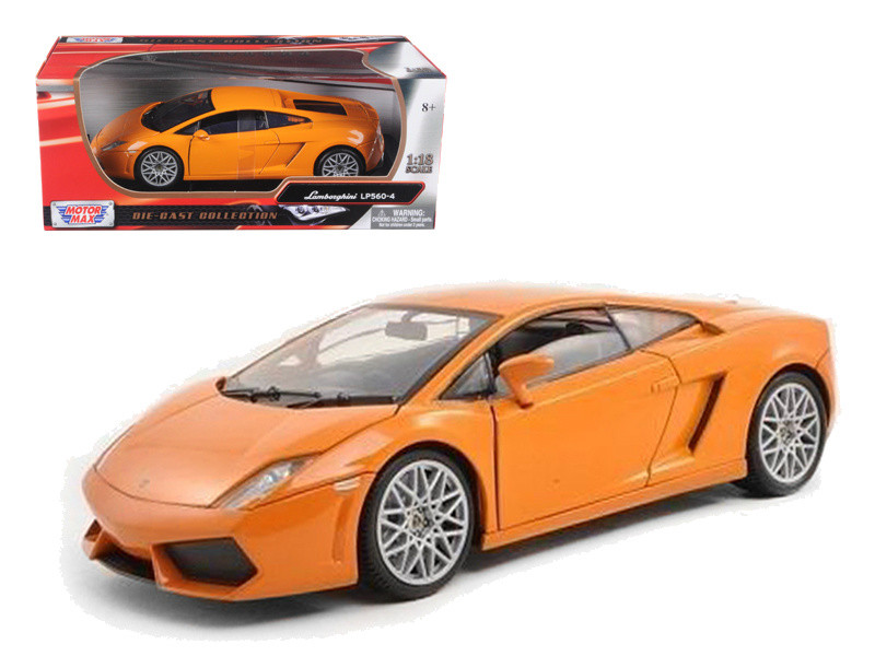 Lamborghini Gallardo Lp560 4 Orange 1 18 Scale Diecast Car Model