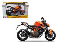 KTM 1290 Super Duke R Orange Motorcycle Bike 1/12 Scale By Maisto 13065