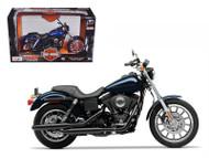 2003 Harley Davidson Dyna Super Glide Sport Bike Motorcycle 1/12 Scale By Maisto 32321