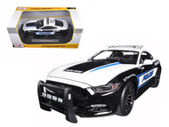 2015 Ford Mustang GT 5.0 Police 1/18 Scale Diecast Car Model By Maisto 36203