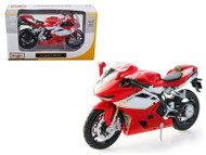 2012 MV Agusta F4RR Red Motorcycle Bike 1/12 Scale By Maisto 11098